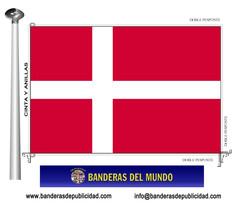 Bandera país de Dinamarca