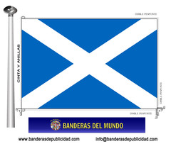 Bandera país de Escocia