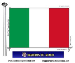 Bandera país de Italia