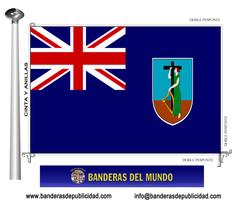 Bandera país de Montserrat