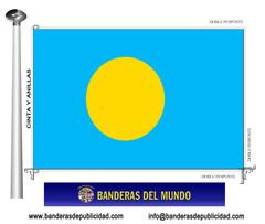 Bandera país de Palau República