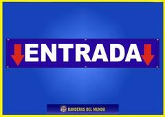 BANDERA PANCARTA ENTRADA