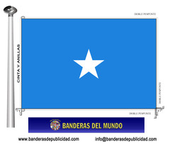 Bandera país de Somalia