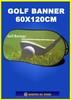 GOLF BANNER 60x120cm