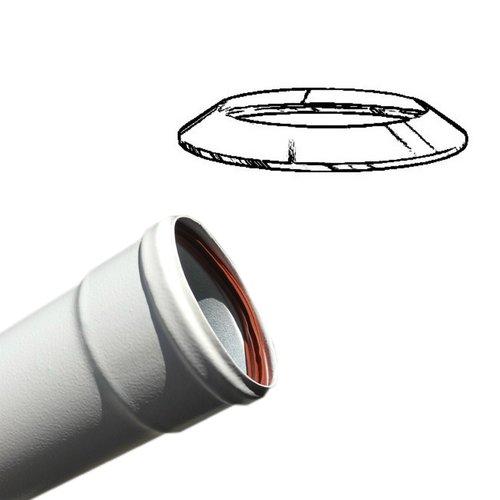 Embellecedor pellet blanco 80 mm