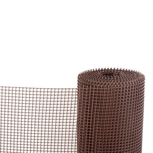 Malla plástica Marrón 100 cm Rollo de 25 m