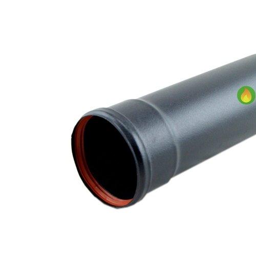 Tubo Negro 80 Pellet 100 cm