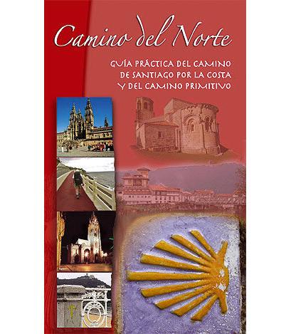 Portada de la guía del Camino de Santiago del Norte: Camino de la Costa y Camino Primitivo 2005.