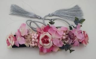 Cinturón de fiesta y flores Ref. 045