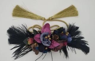 Cinturón de fiesta y plumas Ref. 044