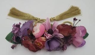 Cinturón de fiesta y flores Ref. 042