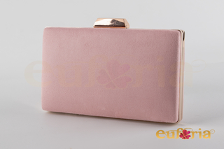 Bolso de fiesta rosa maquillaje