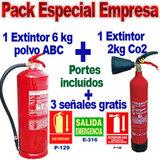 Pack anti-incendio especial empresa