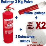 Pack anti-incendio especial casa