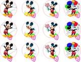 Impresion Galletas Mickey Mouse