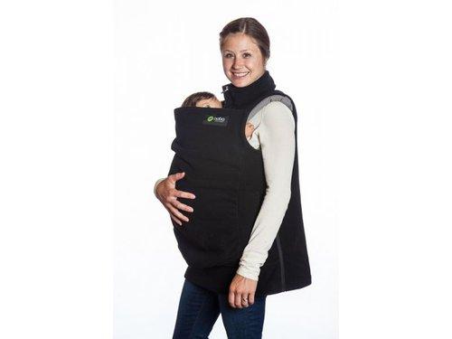 Abrigo de porteo boba vest  - Negro