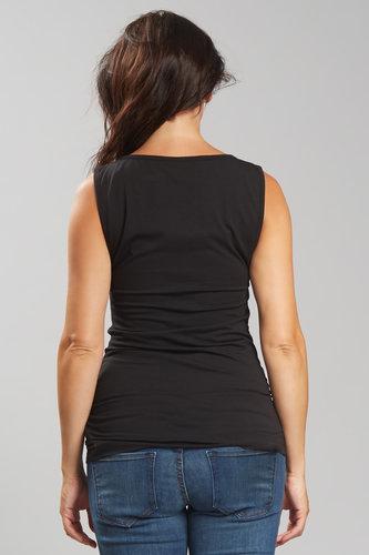 Camiseta Lactancia Negra