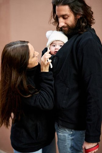 Momawo Polar Mom&Dad Black