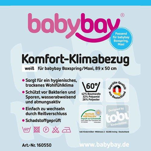 Protector de colchón Babybay Maxi / Boxspring