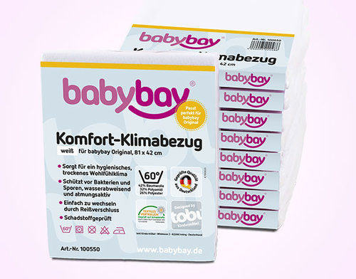 Protector de colchón Babybay Trend