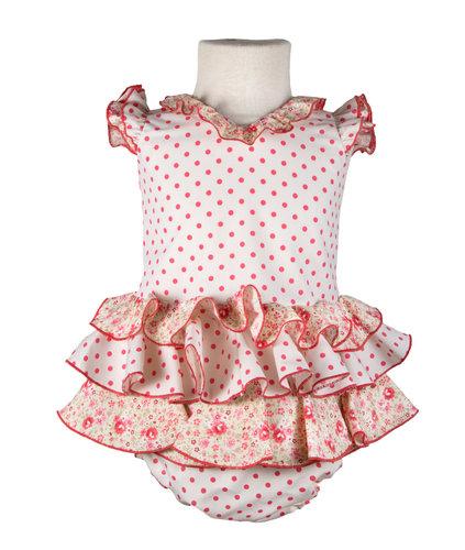 Traje de flamenca para bebé
