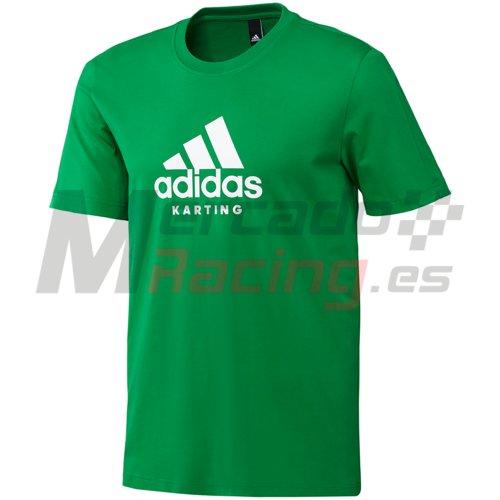 Adidas® Karting T-Shirt Green