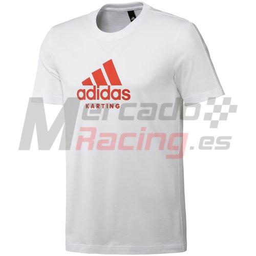 Adidas® Karting T-Shirt Graphite/Pink