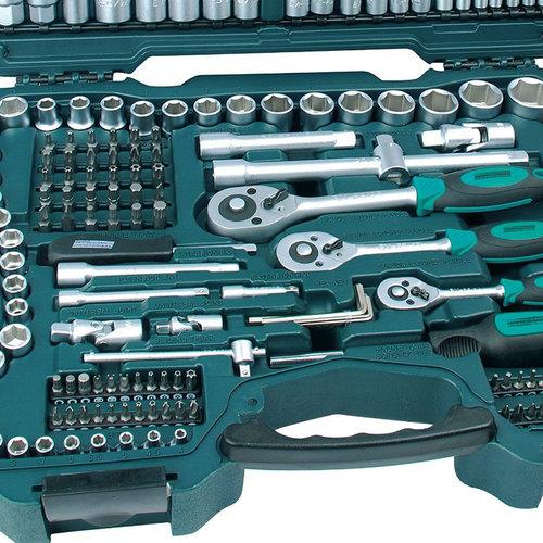 Maletín de herramientas 215 piezas Manessmann