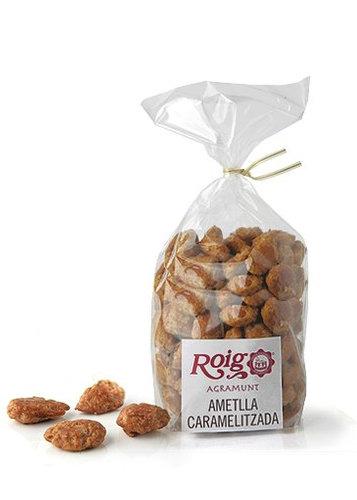 Ametlla caramel·litzada. Pes net 200g